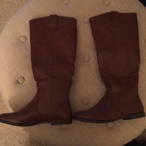 Forever 21 Brown Riding Boots